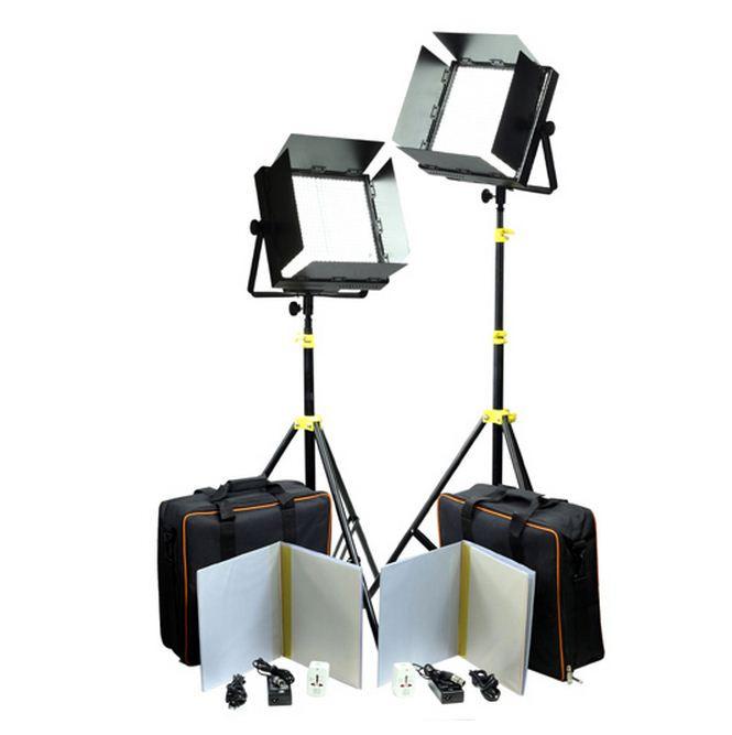 Светодиодная (LED) панель для фото / видео Camtree 2000 5600K (с фильтрами)
