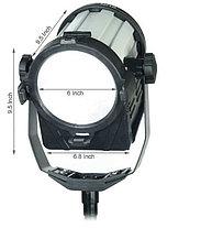 Светодиодная (LED) панель для фото / видео Camtree SUN 6 с линзой Френеля (1 осветитель), фото 2