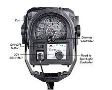 Светодиодная (LED) панель для фото / видео Camtree SUN 6 с линзой Френеля (1 осветитель), фото 3