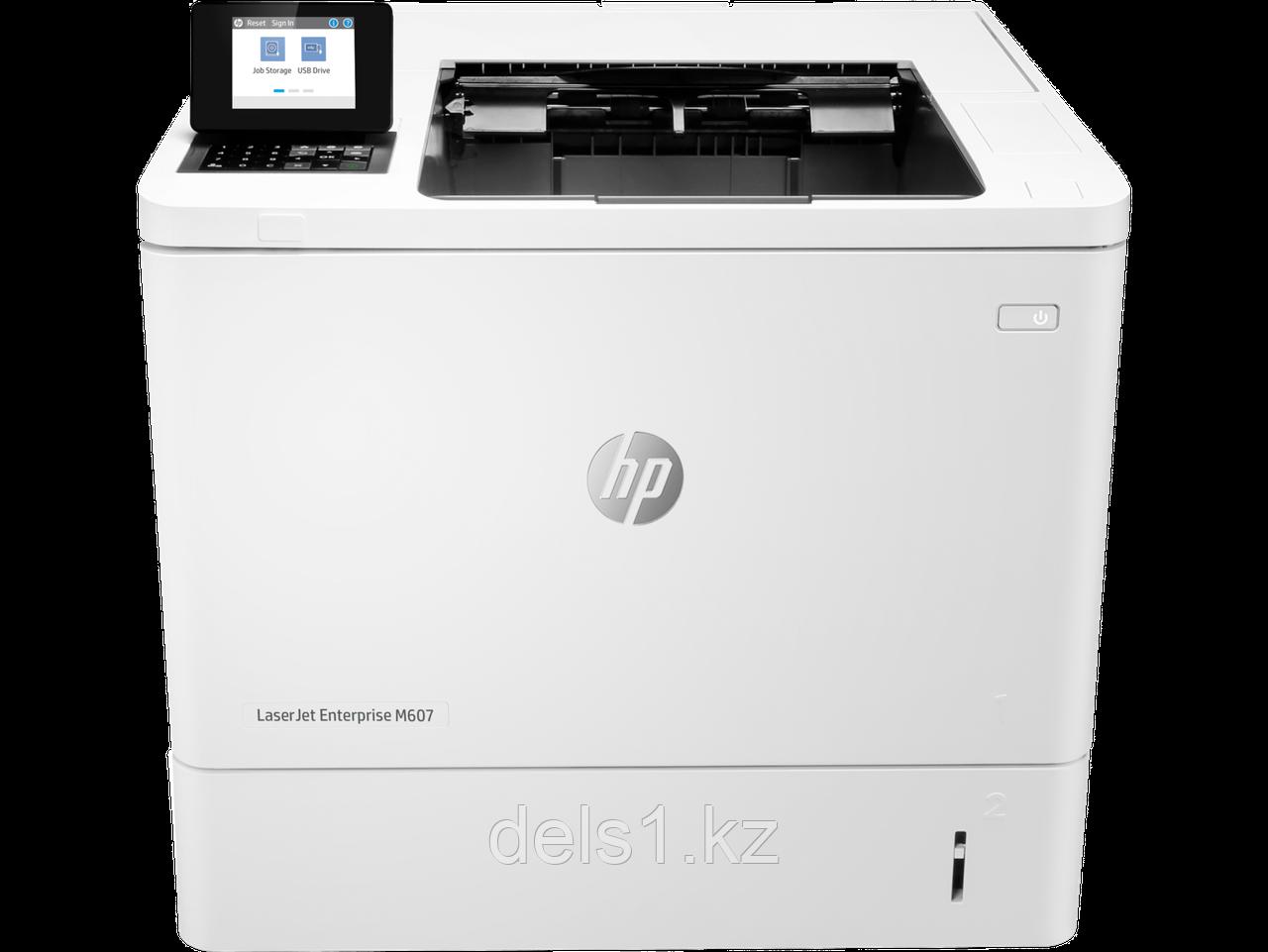 Лазерный принтер для черно - белой печати HP LaserJet Enterprise M607dn