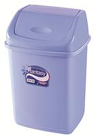 Мусорное ведро 35 литров Фантазия синеревое, фото 1