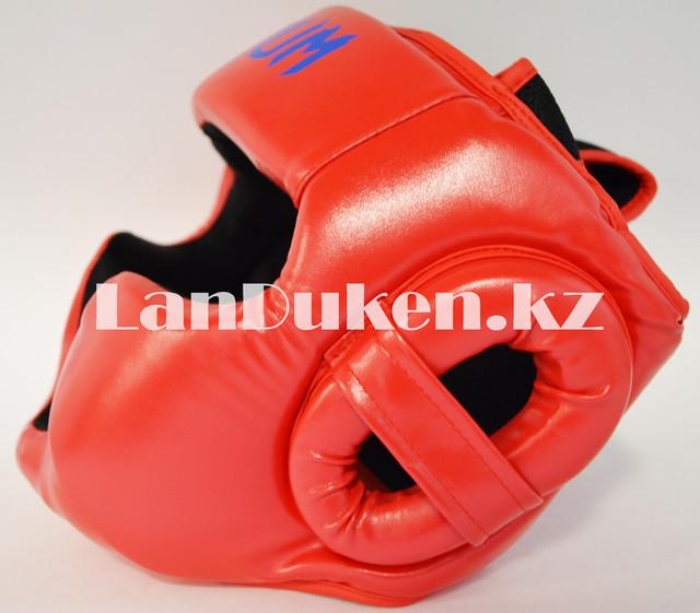 Боксерский шлем Venum L/XL (красный)