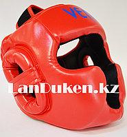 Боксерский шлем Venum L/XL (красный), фото 1