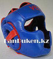Боксерский шлем Venum L/XL (синий), фото 1