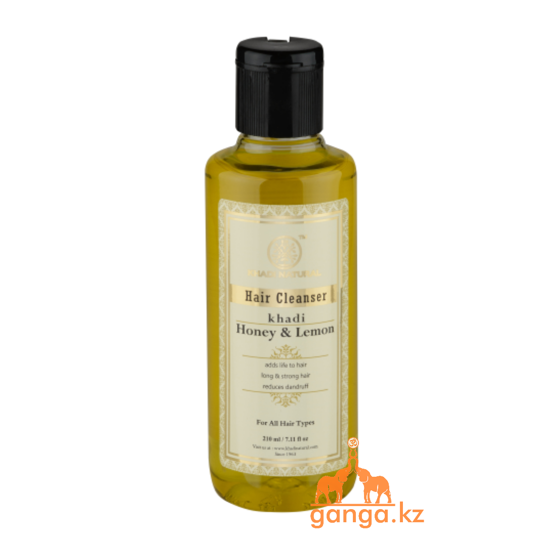 Шампунь KHADI Мед и Лимон (Honey & Lemon Shampoo KHADI), 210 мл.