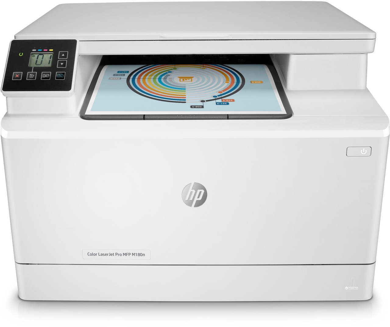 Цветное МФУ HP Color LaserJet Pro M180n