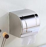 Держатель (диспенсер) для туалетной бумаги закрытого типа, фото 2