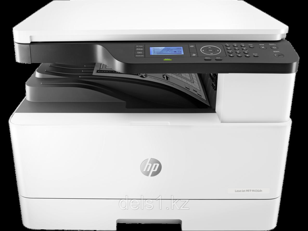 Черно-белое МФУ А3 HP LaserJet M436dn