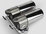 Дозатор (диспенсер) двойной для жидкого мыла, фото 3