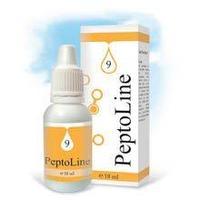 PeptoLine 9 для желудочно-кишечного тракта,- пептидный комплекс 18 мл.