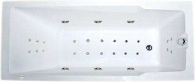Акриловая ванна Aragona (Raguza) 190х90 см с гидромассажем. Джакузи.(Общий массаж + спина + ноги + дно)