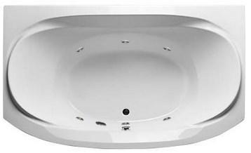 Акриловая ванна Sirakusa 190х120 см с гидромассажем. Джакузи.(Общий массаж)