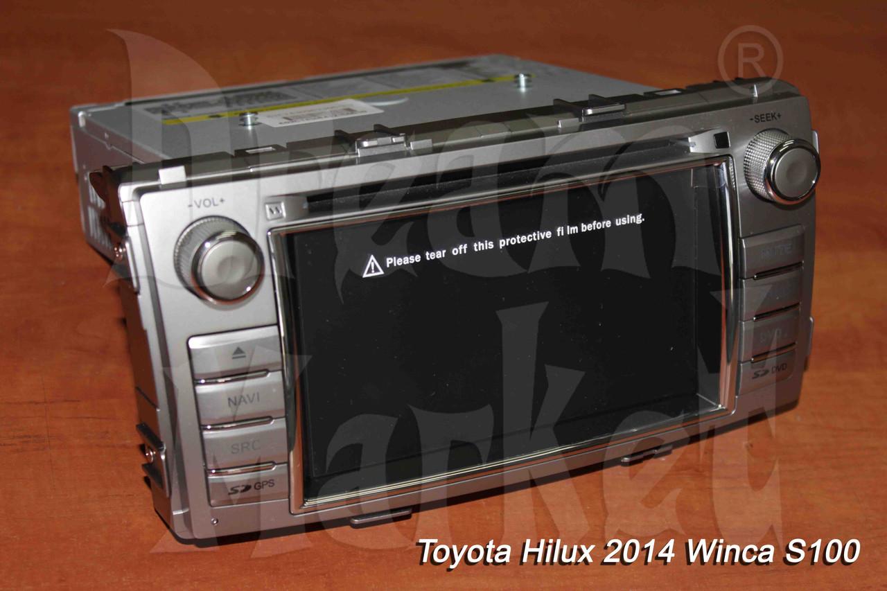 Автомагнитола Toyota Hilux 2014 г. Winca S100