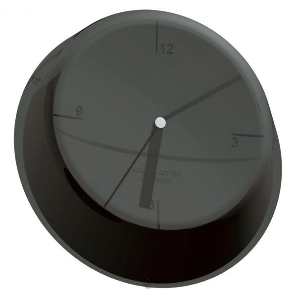 Часы настенные Casa Bugatti Glamour, черный GLNU-02190