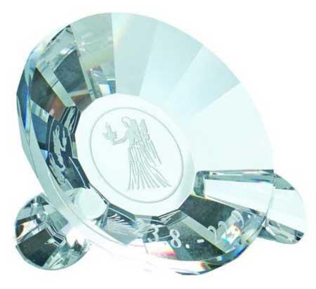 Игурка хрустальная Зодиак- Дева 1070 89