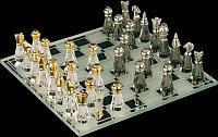 Фигурка хрустальная Малые шахматы 0823 00
