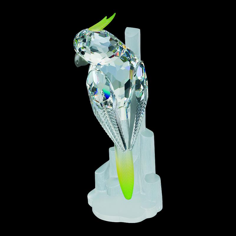 Фигурка хрустальная попугай 0765 80