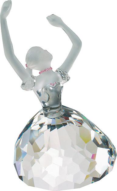 Фигурка хрустальная балерина 0760 79
