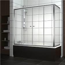 Шторка на прямоугольную ванну хром/бел. 140*140