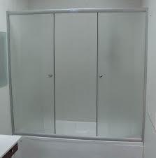 Шторка на прямоугольную ванну хром/бел. 140*140, фото 2