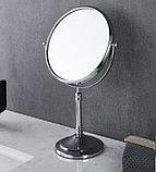 Настольное зеркало увеличительное (хром), фото 8