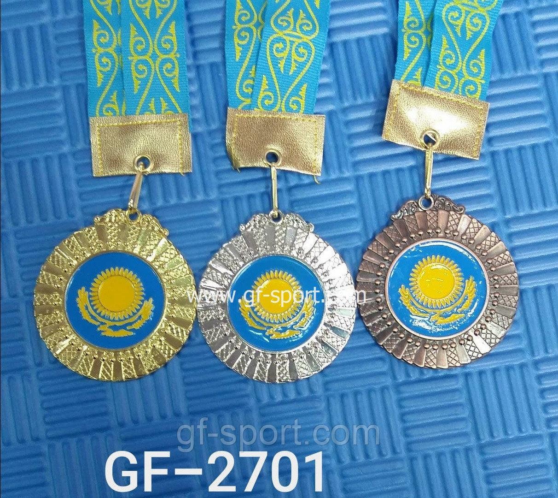 """Медали """"Казахстан"""" в комплекте из 3-х мест 2701"""