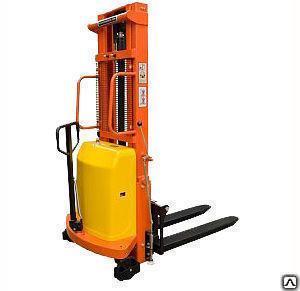 Штабелер гидравлический 1500кг с электроподъемом TOR 15/35, 1,5т 3,5м (CTD)