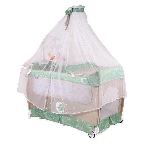 Кровать-манеж LORELLI SLEEP 'N' DREAM ROCKER  + BALDACHIN цвета в асортименте