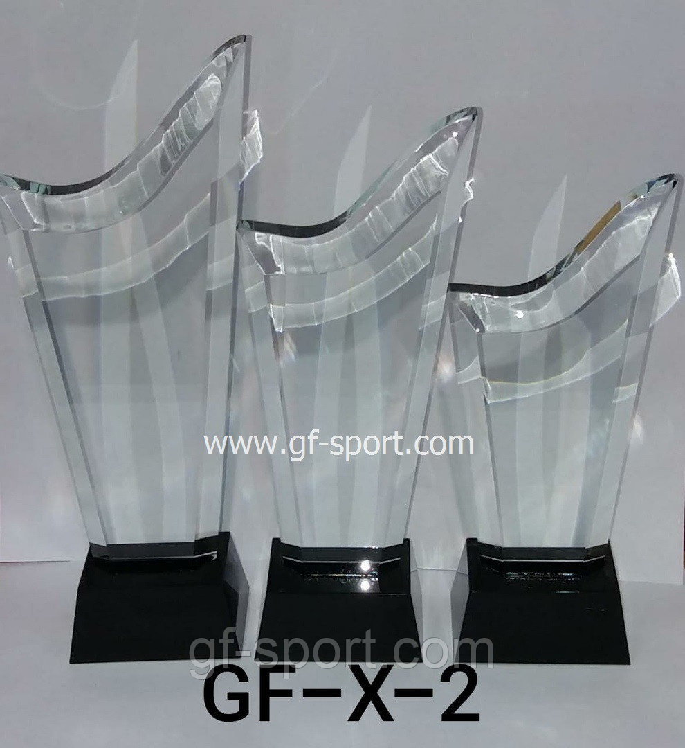 Кубки стеклянные Х2