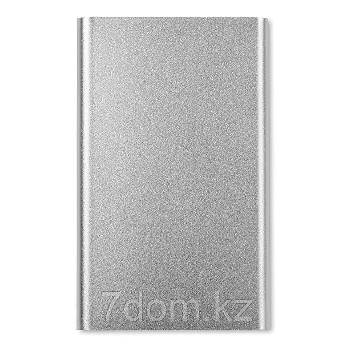 Алюминиевый плоский аккумулятор / Power bank 4000 mAh