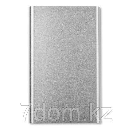 Алюминиевый плоский аккумулятор / Power bank 4000 mAh, фото 2