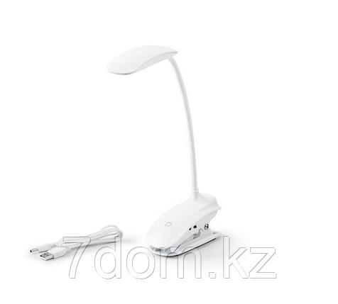 Настольная лампа, с зажимом и с 3 режимами света, фото 2