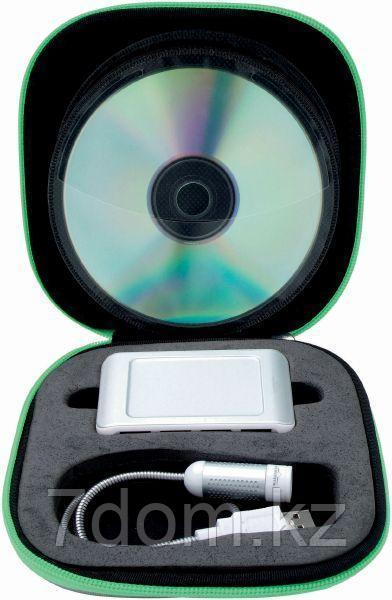 Набор для компьютера: CD-holder, USB-разветвитель, фонарик