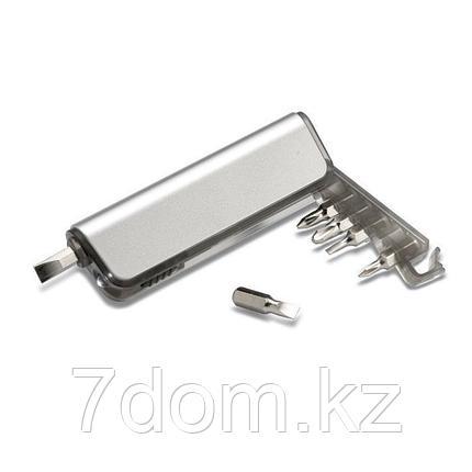 Мини набор инструментов с фонариком, фото 2