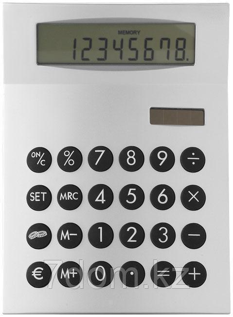 Настольный 8-разрядный калькулятор с конвертером валют