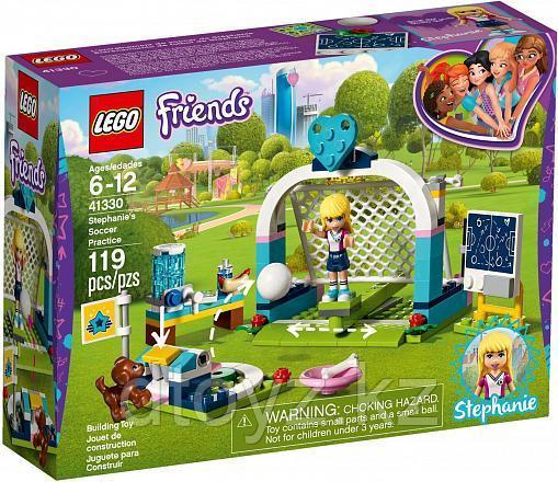 Lego Friends 41330 Футбольная тренировка Стефани, Лего Подружки