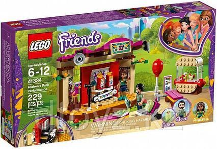 Lego Friends 41334 Сцена Андреа в парке, Лего Подружки