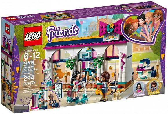 Lego Friends 41344 Магазин аксессуаров Андреа, Лего Подружки