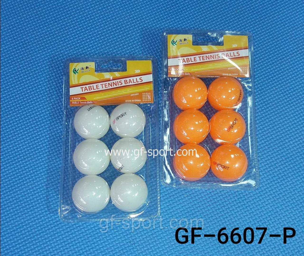 Шарики для настольного тенниса 6607