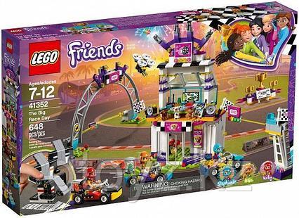 Lego Friends 41352 Большая гонка, Лего Подружки