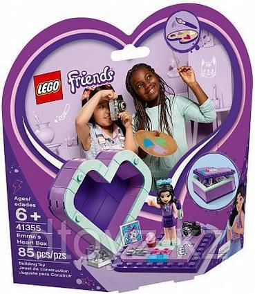 Lego Friends 41355 Шкатулка-сердечко Эммы, Лего Подружки