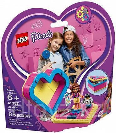Lego Friends 41357 Шкатулка-сердечко Оливии, Лего Подружки