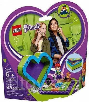 Lego Friends 41358 Шкатулка-сердечко Мии, Лего Подружки