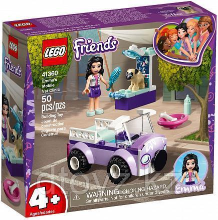 Lego Friends 41360 Передвижная ветклиника Эммы, Лего Подружки
