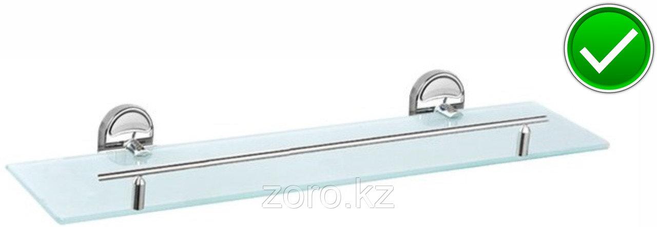 Полочка стеклянная для ванной комнаты