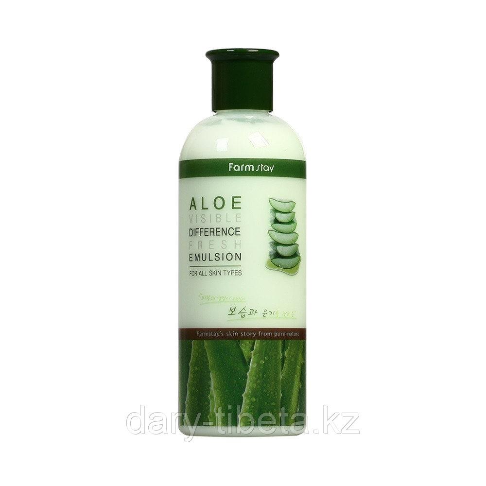 Farm Stay Visible Difference Fresh Emulsion Aloe -Освежающая эмульсия с алоэ вера (350 мл)