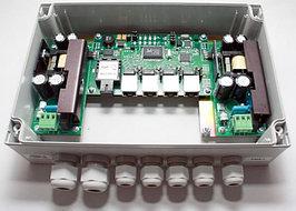 Коммутатор TFortis PSW-1 (оптика) неуправляемый