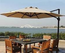 Зонт для летних площадок и кафе восьмиугольный Сан шайн 3х3