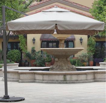 Зонт для кафе и летних площадок Сан шайн 3х3, квадратный
