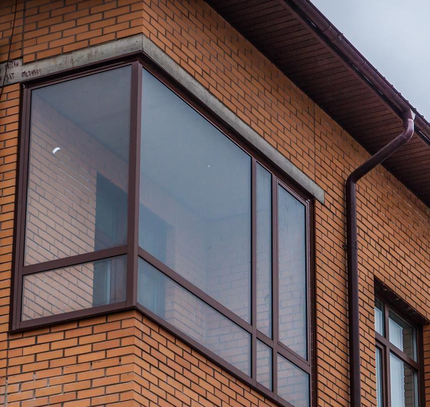 Алюминиевые окна - фото 2